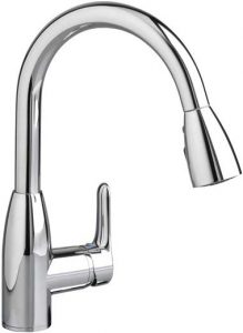 6American Standard 4175300.002 Colony Soft 1 Handle High Arc Pull Down Kitchen Faucet