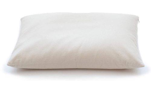 7 ComfyComfy Buckwheat Hull Pillow, with Extra 1 lb of Buckwheat Hulls for Customization, Breathable for Cool Sleep, USA Grown Buckwheat