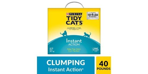 The best part about Purina Tidy Cats Instant Action