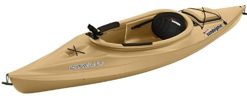 It is a perfect kayak for short and recreational trips.