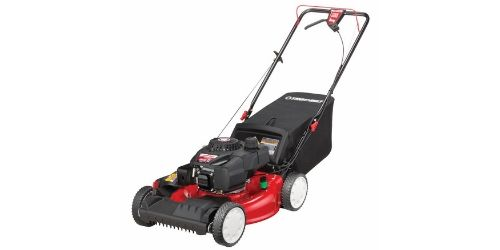 This lawn mower is also suitable for small to medium yards or lawns.