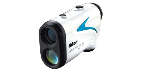 The Nikon COOLSHOT 40 golf rangefinder
