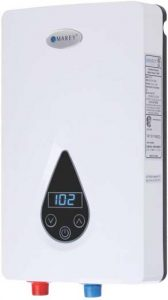 9Marey ECO150 220V 240V-14.6kW Tankless Water Heater with Smart Technology