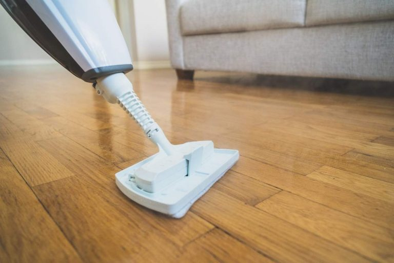 Floor cleaning with best steam cleaner