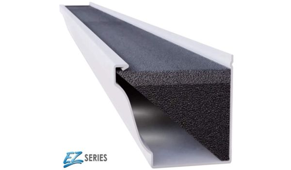 GUTTERSTUFF EZ Gutter Guard is Easy Do It Yourself (DIY) Installation