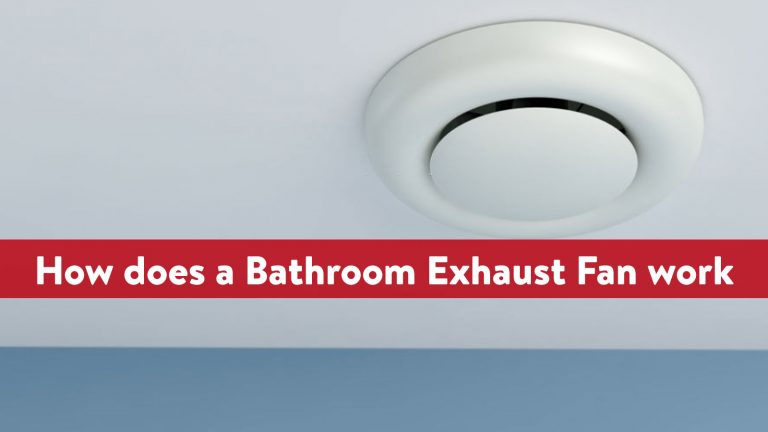 How does a Bathroom Exhaust Fan work