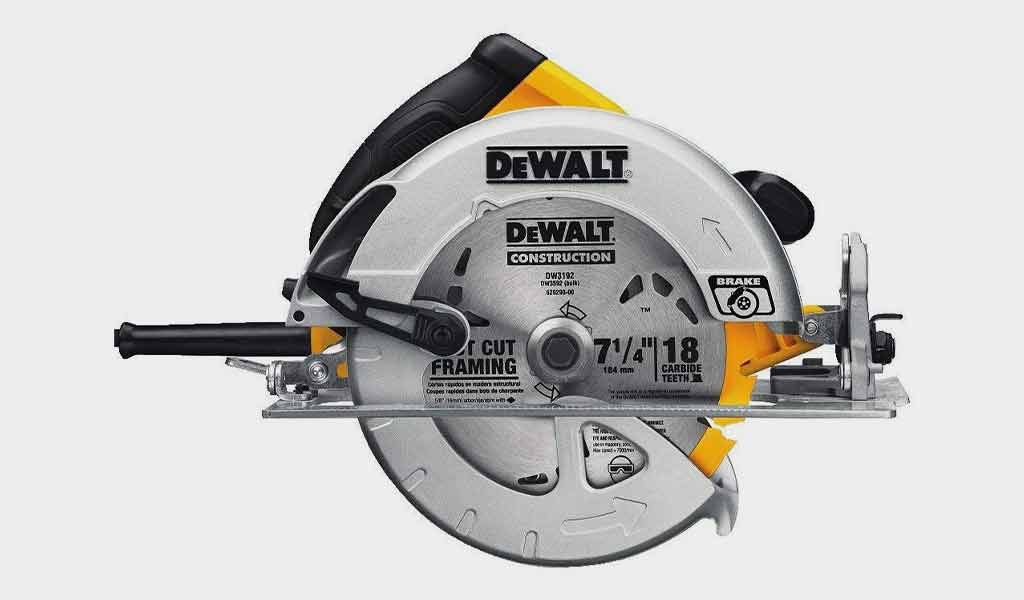 DEWALT DWE575SB Lightweight Circular Saw with Electric Brake