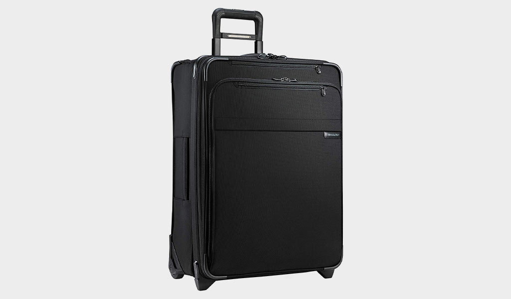 Pierre Cardin Medium Black Suitcase PC2645M BLK