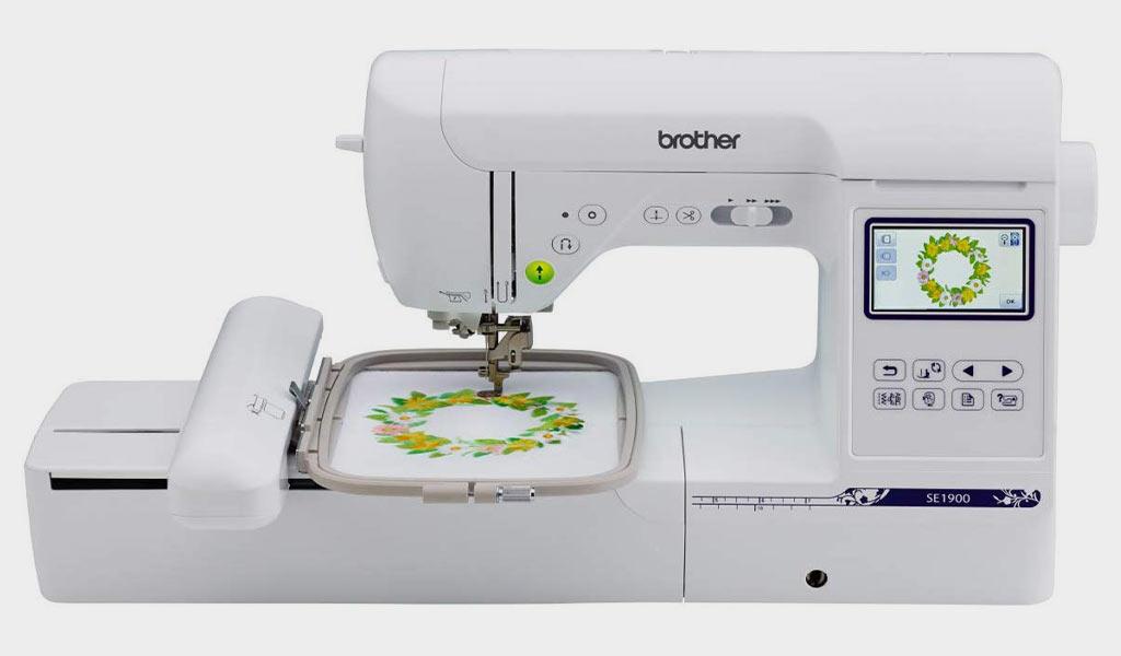Brother Machine, SE1900, 138 Designs 240 Built Stitches