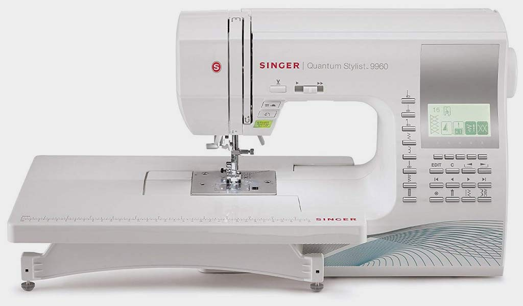 SINGER   Quantum Stylist 9960 Computerized Portable Sewing Machine