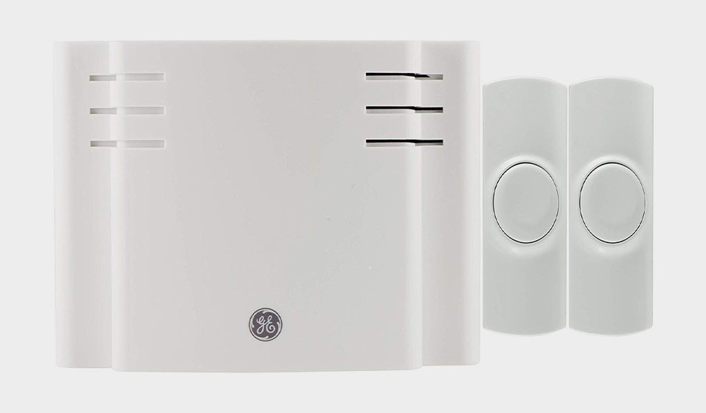 Bodyguard Wireless Doorbell, Waterproof Chime Kit