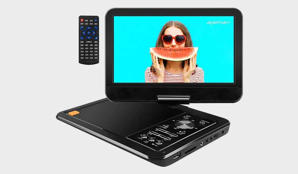 APEMAN 10.5'' Portable DVD Player