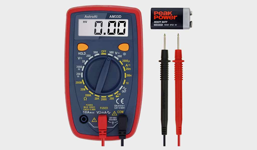 AstroAI AM33D Digital Multimeter