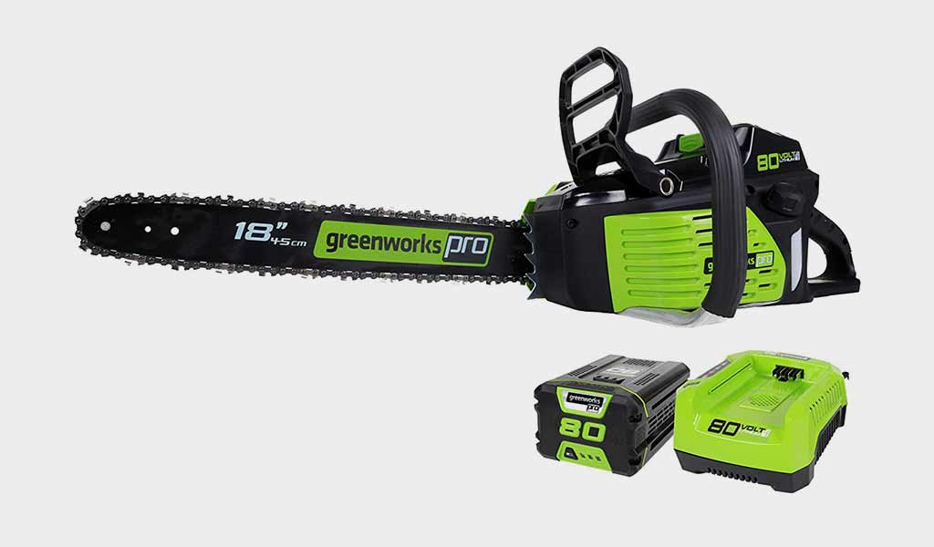 Greenworks PRO 18 Inch 80V Cordless Chainsaw