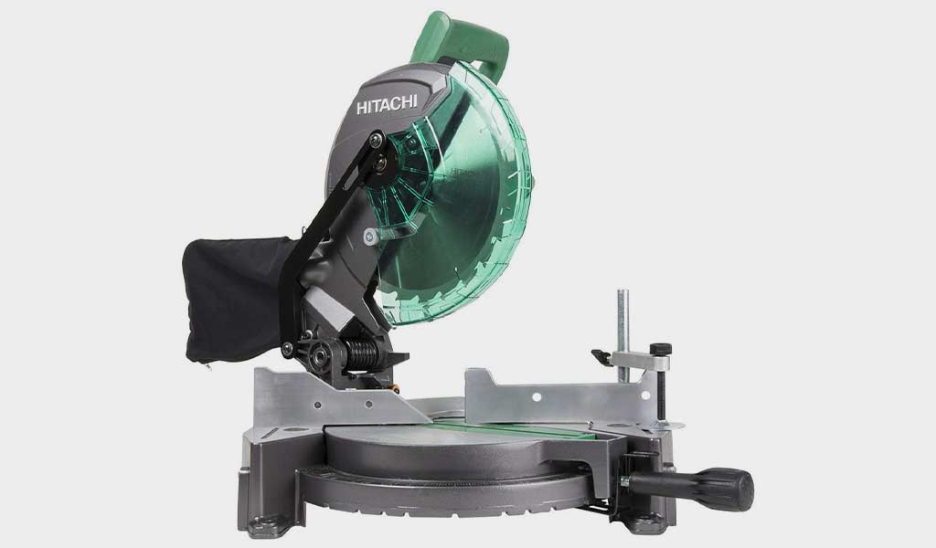 Hitachi C10FCG - Single Bevel Compound Miter Saw