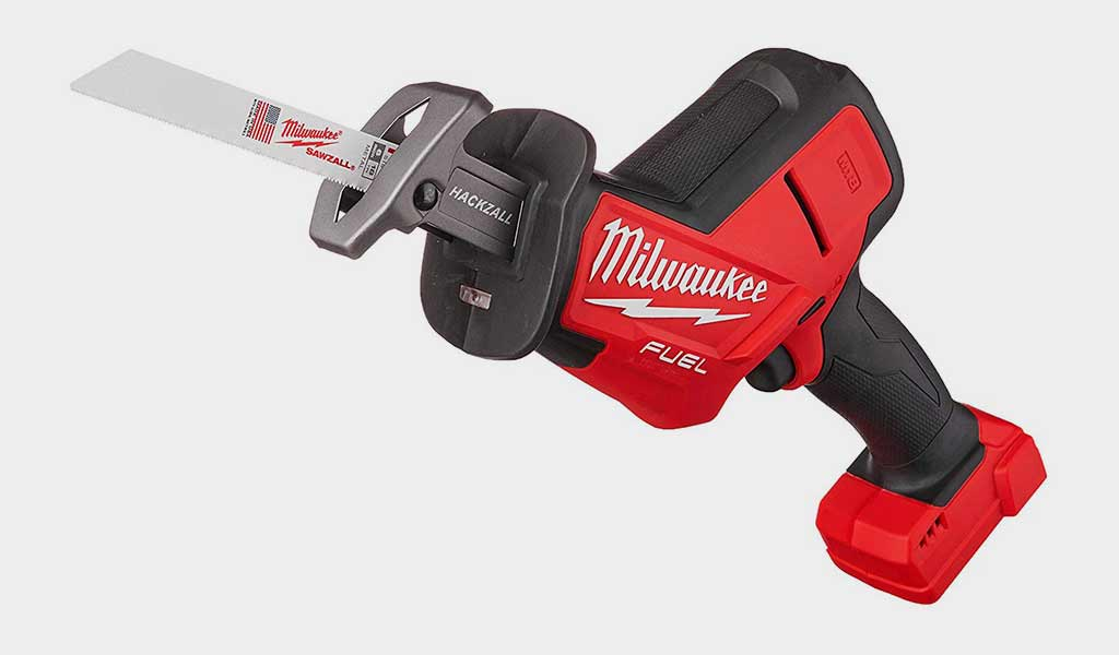 Milwaukee M18 Red and Black - Best Reciprocating Saws