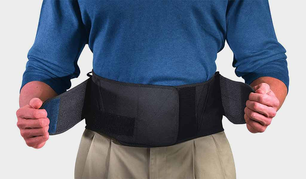 Mueller Lumbar Back Support - Adjustable and Wide back braces