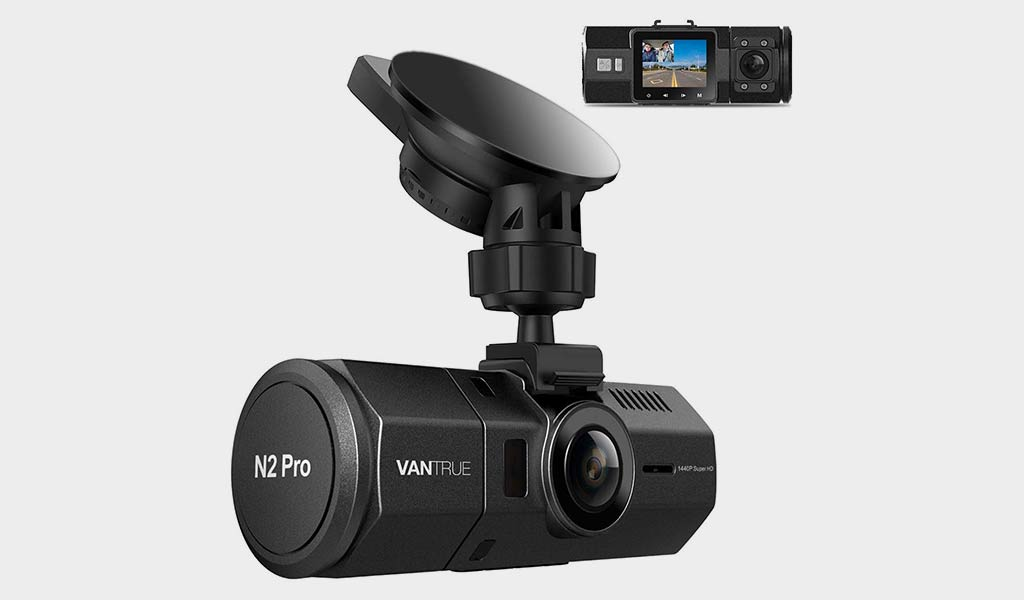 Vantrue N2 Pro Uber Dual Dash Camera  The perfect option