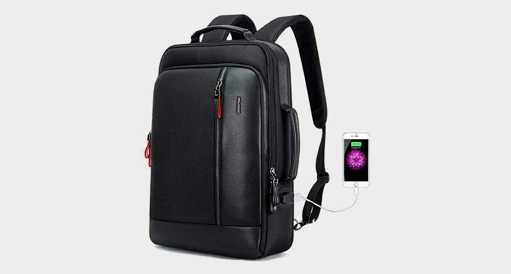 Bopai Intelligent Increase Anti theft Backpack