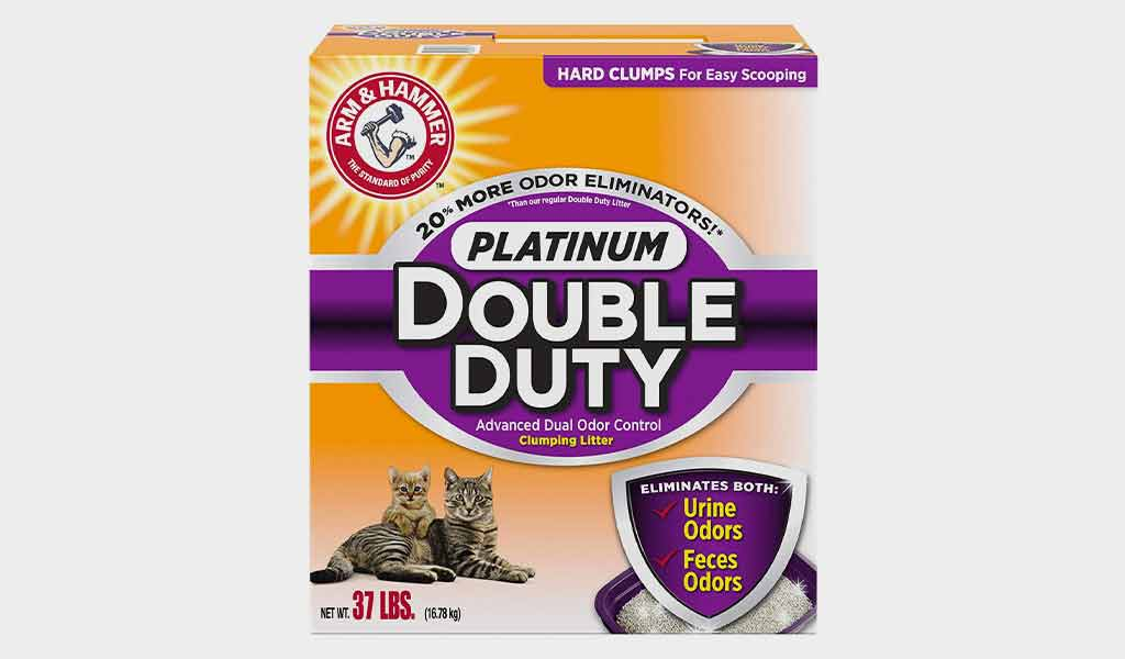 ARM & HAMMER Platinum Double Duty Clumping Cat Litter