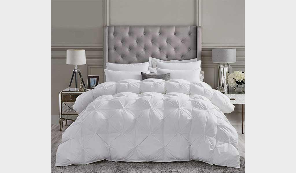 GOOSE DOWn LUXURy COMFORTER Set