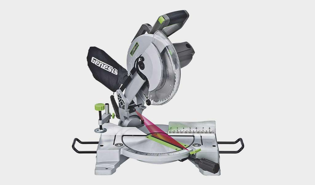 Genesis 15-Amp 10-Inch Compound Miter Saw