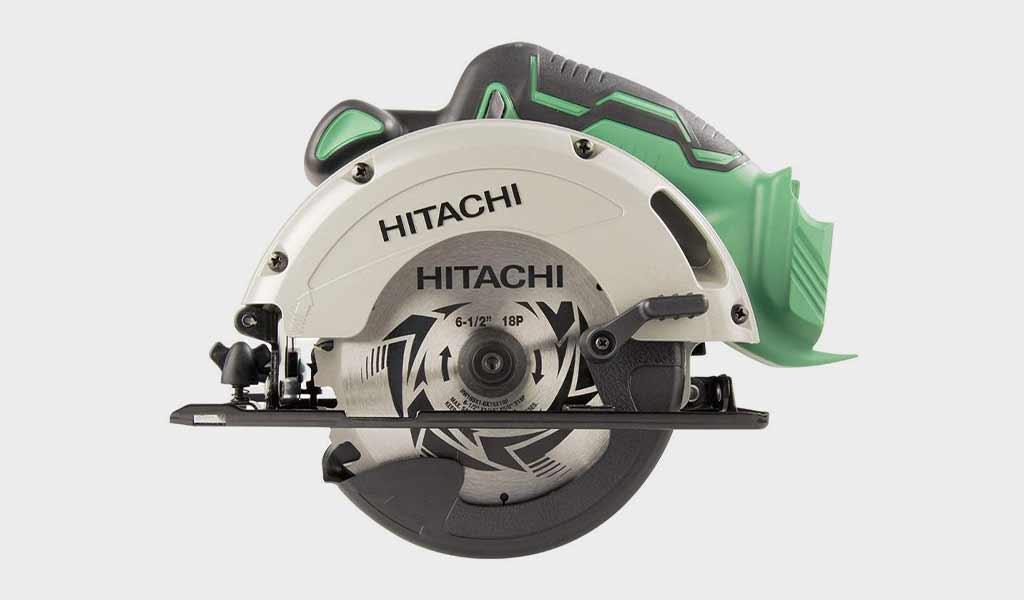 "Hitachi C18DGLP4 18V Cordless Lithium-Ion 6-1/2"" Circular Saw"