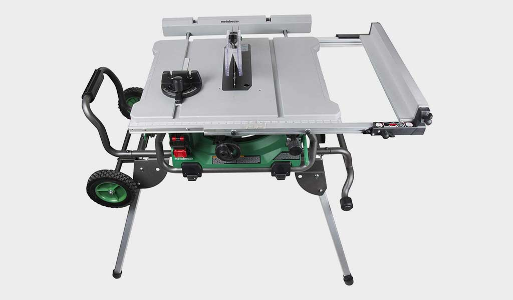 Metabo HPT C10RJ 10-Inch Jobsite Table Saw