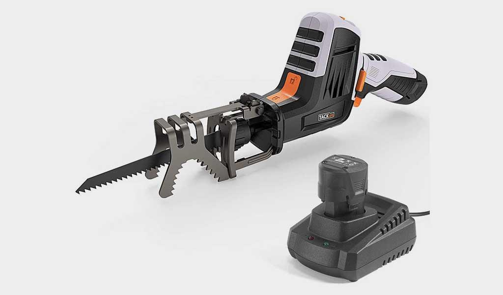 TACKLIFE Advanced 12-Volt Max Reciprocating Saw