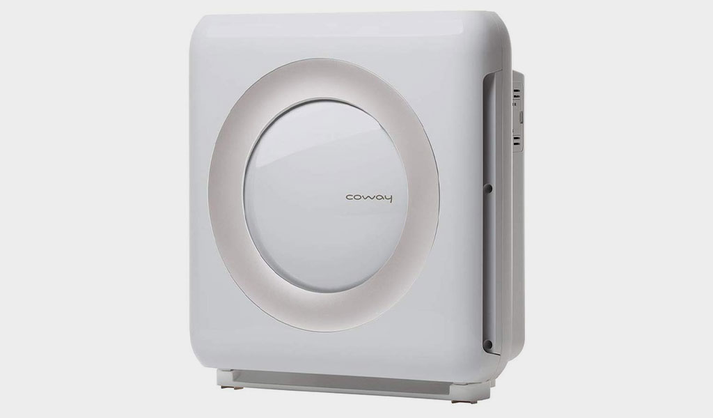 Coway Mighty Air Purifier - True HEPA and Eco Mode in White