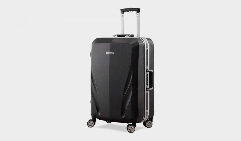 Unitravel Luggage Rolling Suitcase Lightweight