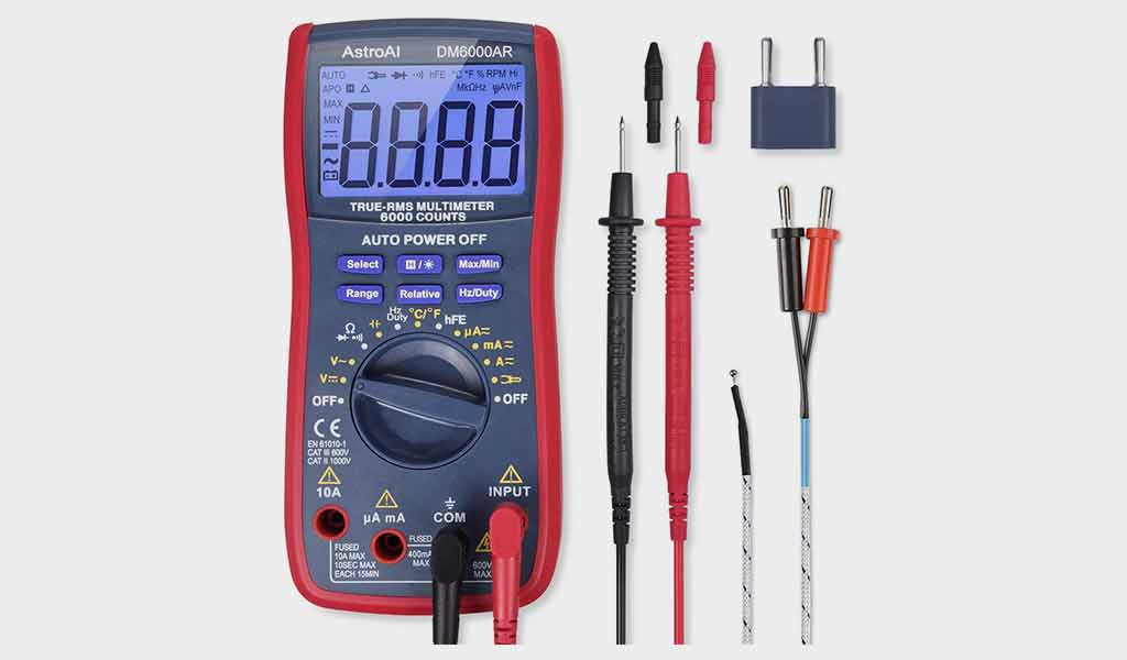 AstroAI 6000 Digital Multimeter