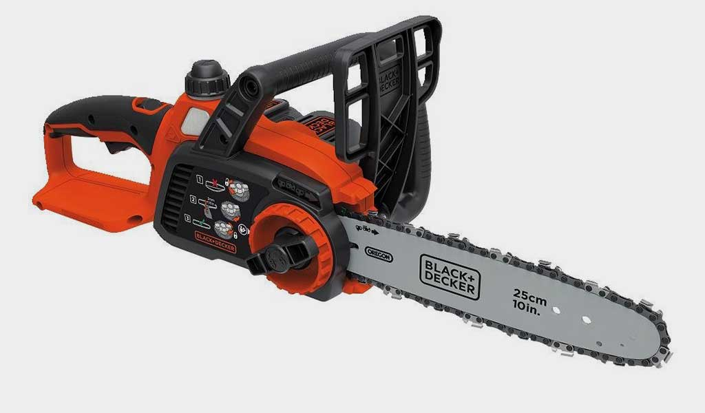 BLACKDECKER LCS1020 20V Max Lithium Ion Chainsaw