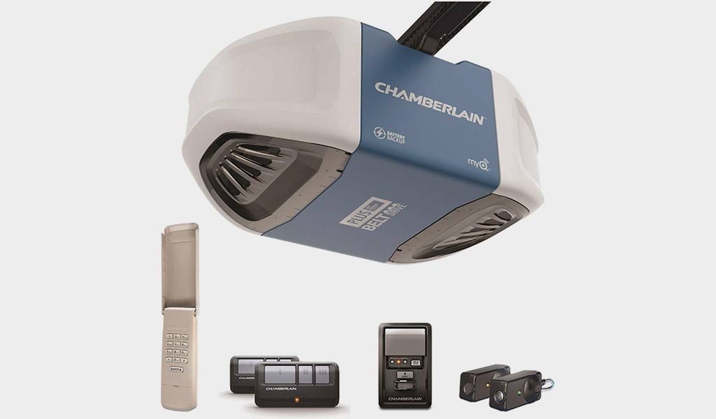 Chamberlain Group B730 Ultra-Quiet & Strong Belt Drive Garage Door Opener