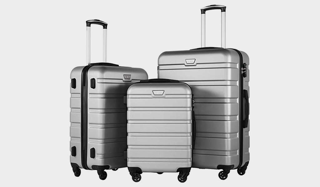 Coolife Luggage Lightweight Hardside Luggage