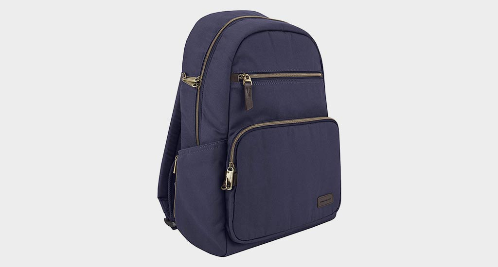 Travelon Anti Theft Courier Slim Backpack – Runner Up