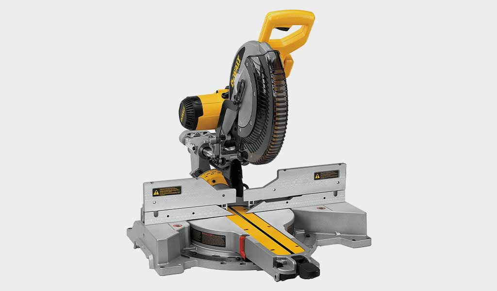 Dewalt Double Bevel Sliding Compound Miter Saw-DWS780
