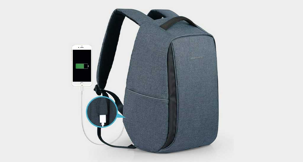 Hanke Anti Theft Travel Backpack – Mr. Techy