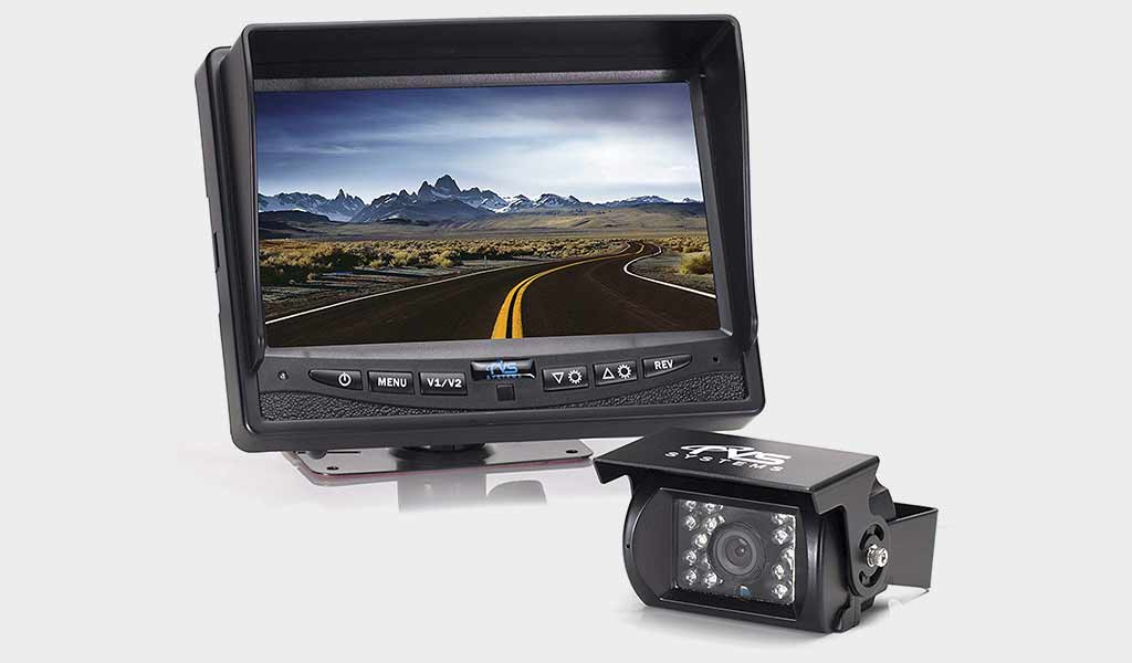Rear View Safety Backup Camera System - Large Display