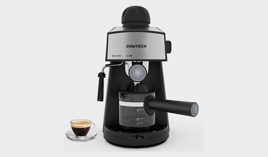 Sowtech 3.5 Bar Espresso Coffee Maker - Masterclass