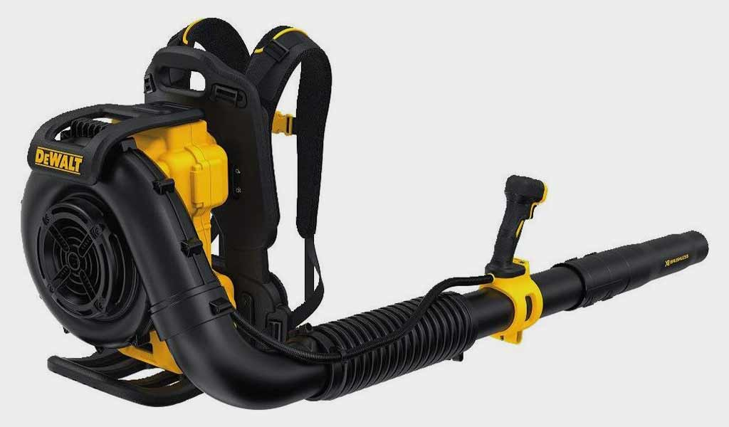 Dewalt DCBL590X2 Backpack Leaf Blower Best Gas Engine Blower