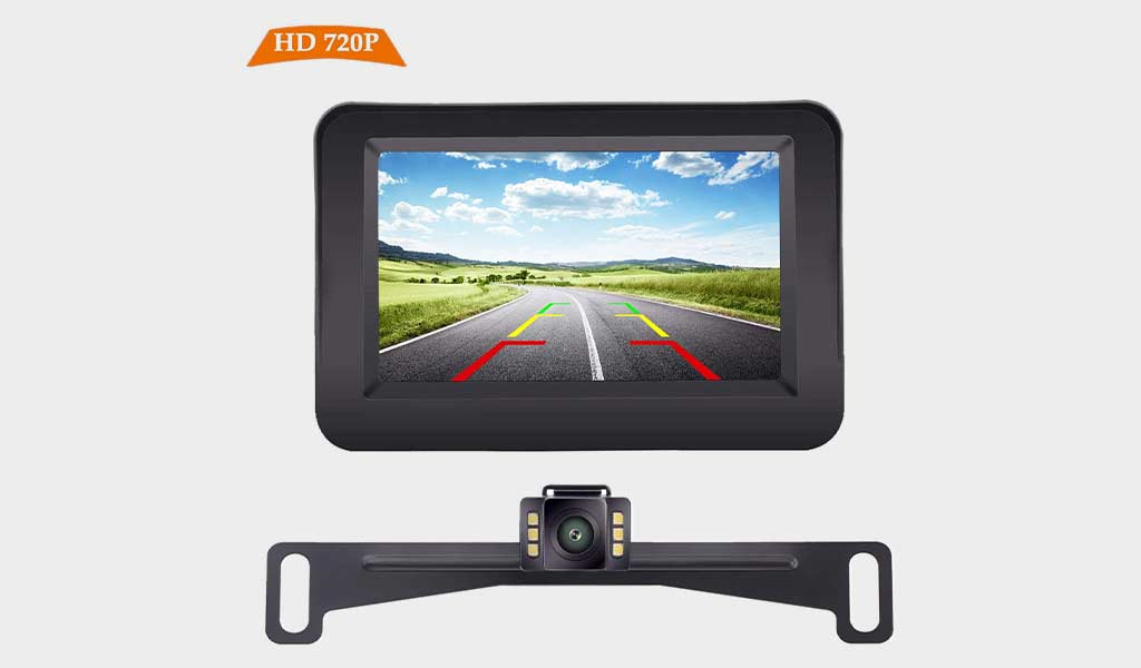 iStrong Backup Camera and Monitor Kit Complementary Backup Kit