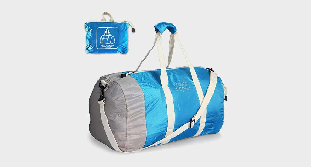 Travel Inspira Foldable Duffel Travel Duffel Bag