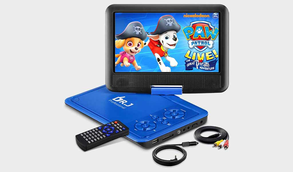 DR. J Portable DVD Player