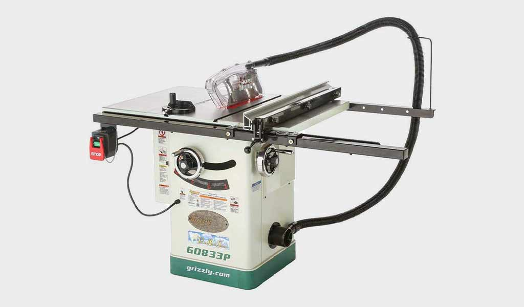 Grizzly Industrial G0833P - HP 230V Hybrid Table Saw