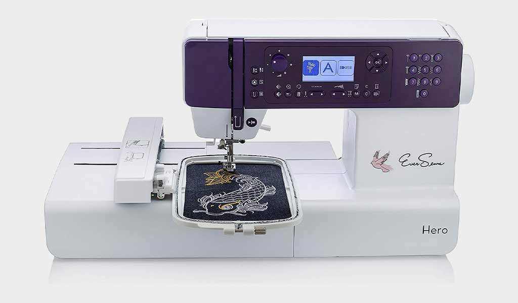 EverSewn Hero 400 Compact Embroidery Machine