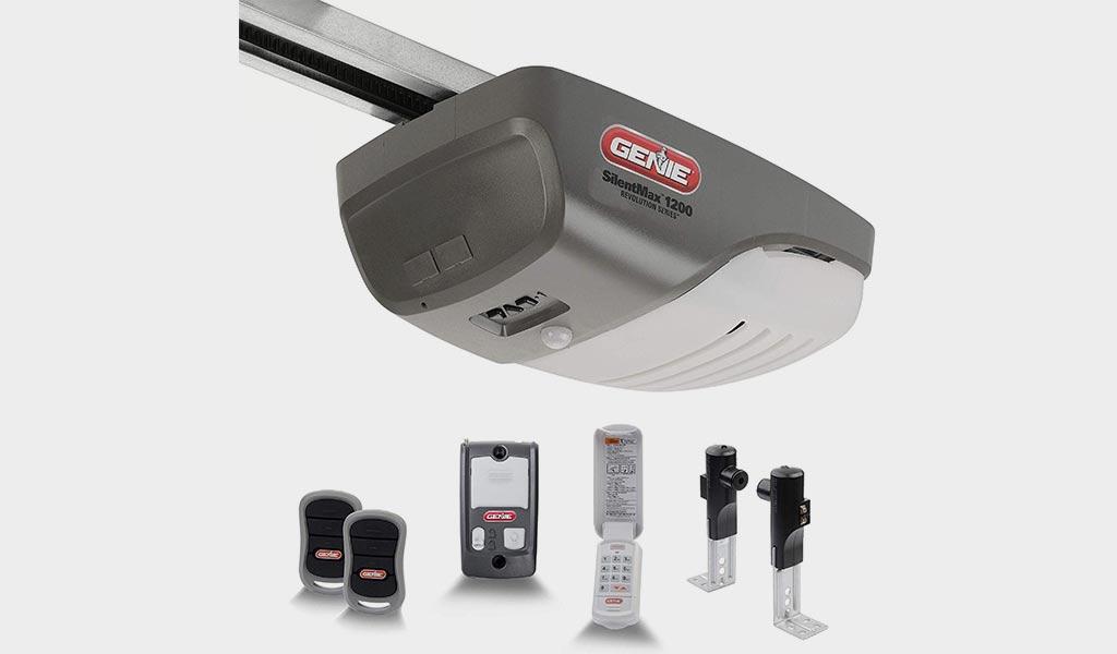 Genie SilentMax 1200 Garage Opener -Ultra-Quiet Belt Drive