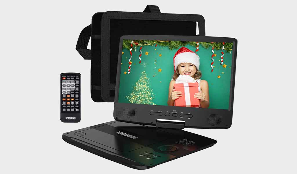 HD JUNTUNKOR Portable DVD Player