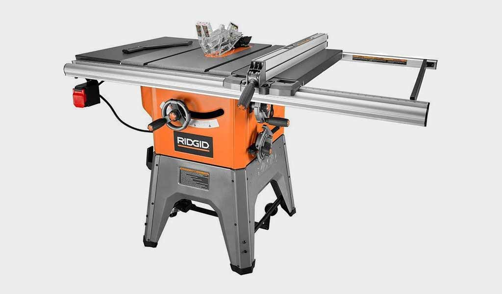 RIDGID R4512 - 13-Amp Cast IronTable Saw