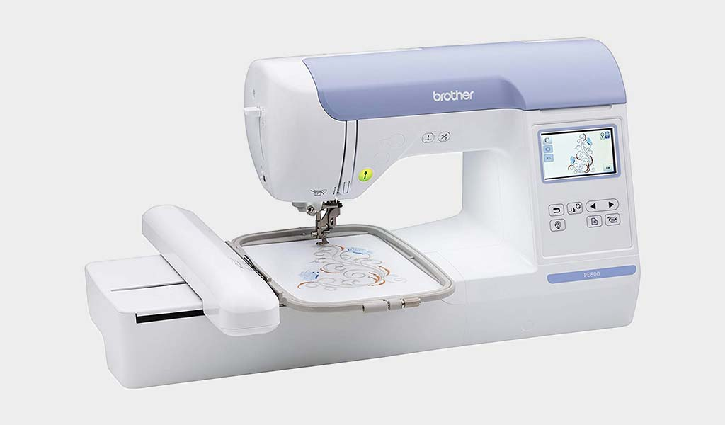 Brother Embroidery Machine PE800 Best Embroidery Machine